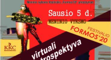 """Meninio vyksmo festivalio """"Formos'20"""" pristatymas"""