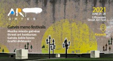 "Gatvės meno festivalis ""ART GATES"""