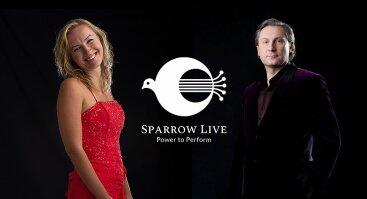 Virtualus klasikinės muzikos koncertas - Edita Biiūtė (sopranas), Linas Dužinskas (fortepijonas)