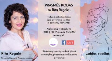 PRASMĖS KODAS su Rita Regale