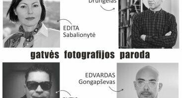 Editos Sabalionytės, Edvardo Gongapševo, Sauliaus Drungelo ir Ryčio Vilniečio virtuali gatvės fotografijos paroda