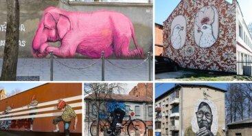 Atrask Kauną per gatvės meną