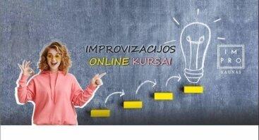 Improvizacija Online 1-1 kursas - Pradedantiesiems