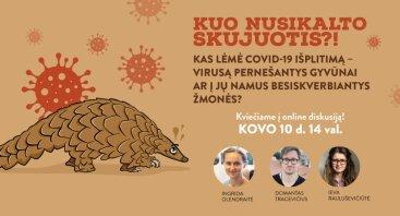 Kas lėmė COVID-19 išplitimą - virusą pernešantys gyvūnai ar į jų namus besiskverbiantys žmonės?