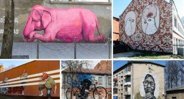 """Atrask Kauną per gatvės meną (""""sienografija"""")"""
