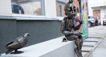 Atrask Kauną per gatvės meną  (Kauno akcentai – skulptūros, instaliacijos, kompozicijos)
