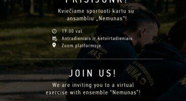 """Atviros treniruotės su KTU tautinio meno ansambliu """"Nemunas"""""""