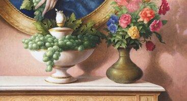 """Broniaus Rutkausko tapybos paroda """"Paslaptis. Iliuzija ir realybė"""""""