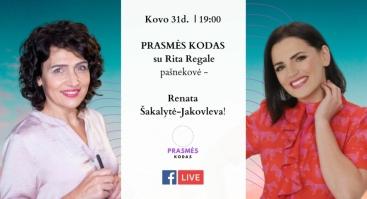 Pokalbis apie Prasmę su Renata Šakalyte-Jakovleva!