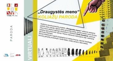 Virtualus koliažų apie Bermudų trikampį ir Kauno radijo gamyklą parodos atidarymas