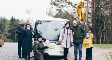 Ekskursija turistiniu elektromobiliu Birštone šeimai