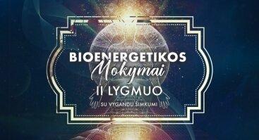 Bioenergetikos mokymai. 2 lygmuo. Žengiantiems tolyn