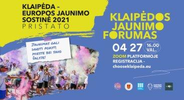 """Klaipėdos jaunimo forumas """"Tapk pokyčiu""""!/ Klaipėda Youth Forum """"Be the Change""""!"""