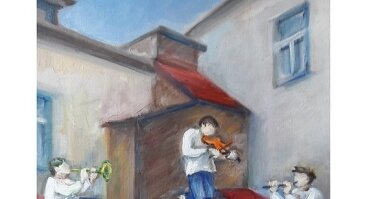 """Salomėjos Rybokienės tapybos paroda """"Laiko atspindžiai"""""""