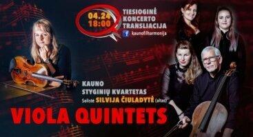 Viola quintets