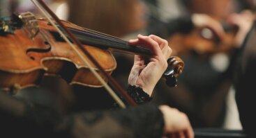 "Koncerto ""Dėlionė orkestrui VIII: portretai"" transliacija internetu."