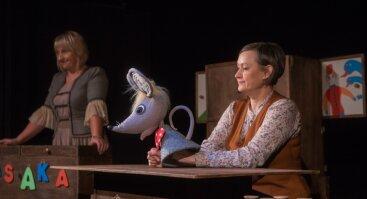 """Lėlių teatro spektaklis ,,Peliuko pasakų dirbtuvėlė"""""""