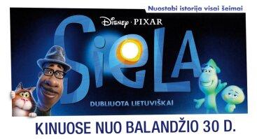Disney filmo SIELA premjera