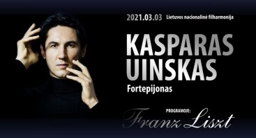 Pianisto Kasparo Uinsko solinis rečitalis