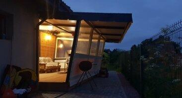 Apsaugai nuo vėjo, lietaus, saulės ar šalčio Jūsų terasoje, pavėsinėje.