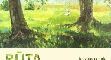 """Rūtos Kučinskaitės tapybos paroda """"Žalioji"""""""