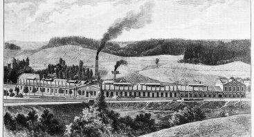 Ekskursija aplink istorinį dalgių fabriką