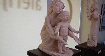 """Skulptūrų ir fotografijų paroda """"Dvasios keliais"""""""