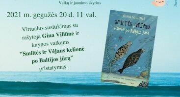Virtualus susitikimas su rašytoja Gina Viliūne