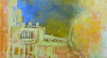 """Druskininkų M. K. Čiurlionio menų mokyklos, V. K. Jonyno dailės skyriaus, moksleivių paroda """"Ant spalvotų sparnų"""""""