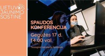 Lietuvos jaunimo sostinės spaudos konferencija