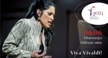 Vilniaus festivalis 2021. Viva Vivaldi!