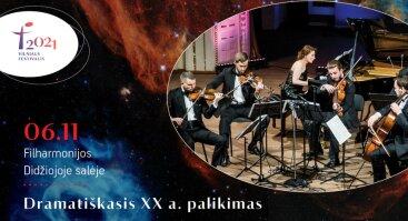 """Vilniaus festivalis 2021. Kompaktinės plokštelės """"Shostakovich – Weinberg. Dramatic Russian Legacy"""" pristatymas"""