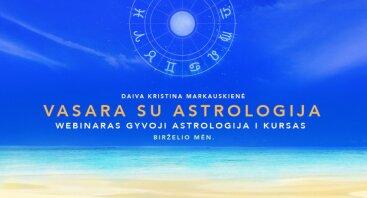 Gyvoji astrologija I kursas (Gimimo horoskopo analizės pagrindai)
