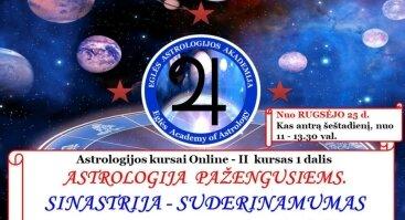 Astrologija pažengusiems. SINASTRIJA - Suderinamumas. Praktikumas.