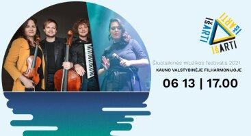 """Šiuolaikinės muzikos festivalis """"IŠ ARTI"""": TEKA SAULĖ DŽIAZO RITMU"""