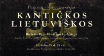 Kantičkos Lietuviškos