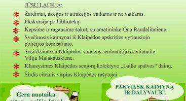 """Kaimynų diena """"Kauno atžalyno"""" bibliotekos kieme"""