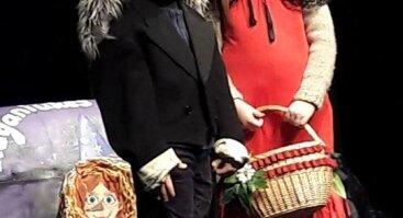 Raudonkepurė ir Vilkas. Spektaklis vaikams