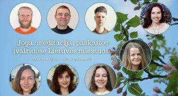 Joga, meditacija, paskaitos apie sąmoningą ir sveiką gyvenimo būdą Klaipėdoje