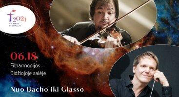 """Vilniaus festivalis 2021. """"Nuo Bacho iki Glasso"""""""