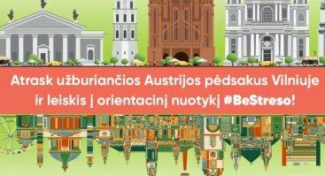 """Orientacinis žaidimas """"Austrija Vilniuje"""""""