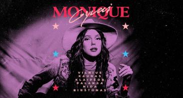 Monika Pundziūtė -Monique. Gyvai