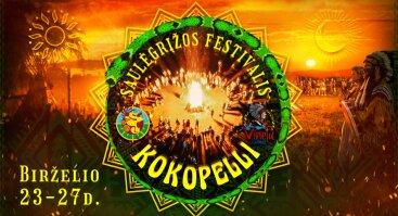 Kokopelli festivalis - stovykla 2021