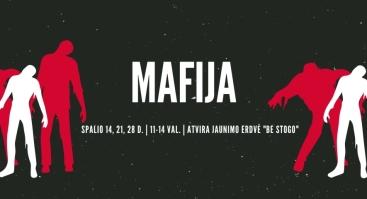"""Psichologinis vaidmenų žaidimas """"Mafija"""""""