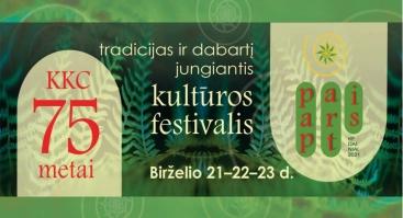"""KKC Kultūros festivalis """"Pap / Art / Is"""""""