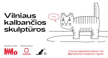 Vilniaus kalbančių skulptūrų sezono atidarymas ir ekskursija