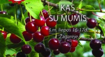 """Žagarės vyšnių festivalio 2021 """"Visiems, kas su mumis"""" koncertinė programa"""
