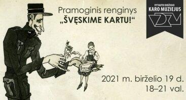 """Karo muziejuje – pramoginis renginys """"Švęskime kartu!"""""""