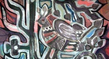 """Akvarelės pleneras """"Joninių kupoliavimas"""""""