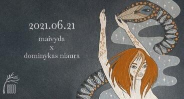Grafikos paroda ir muzika : Maivyda x dominykas niaura //06.21